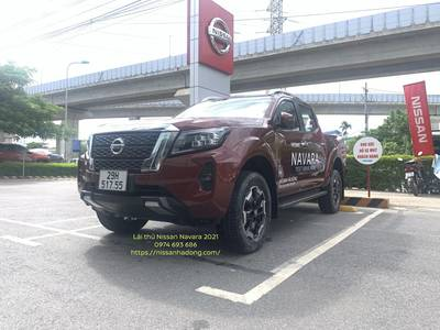 Lái thử Nissan navara VL 2021 1