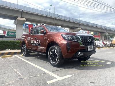 Lái thử Nissan navara VL 2021 4