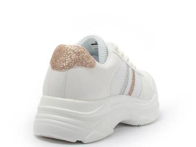 Giày sneaker nữ  phối kim tuyến 100