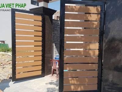 Xu hướng 2021 Làm cổng bằng gỗ nhựa wpc Nhựa Việt Pháp 1