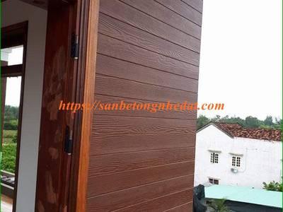 Ốp tường gỗ chịu nước bằng gỗ nhân tạo Smartwood Thái Lan 5