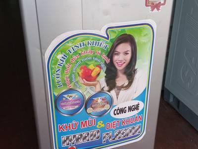 Tủ lạnh Mini Sanyo 90Lit Ga lốc Zin Bao test Pass Giá tốt Có bảo hành 0