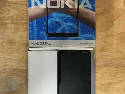 Nokia thông minh 3.1 plus xanh dương 0