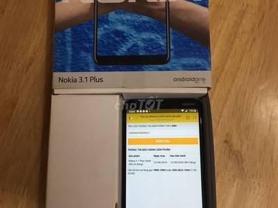 Nokia thông minh 3.1 plus xanh dương 1
