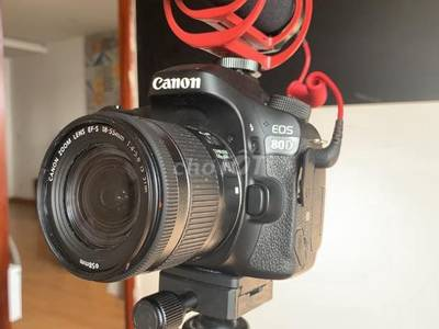 Canon 80d của youtuber 1