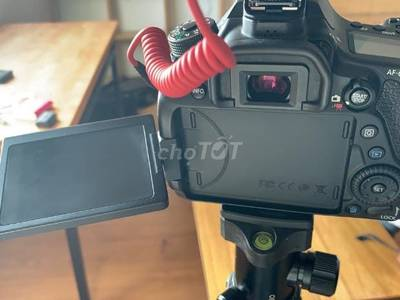 Canon 80d của youtuber 2