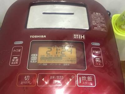 Bán nồi cơm toshiba rc-10vxg ( tô chuông) 0