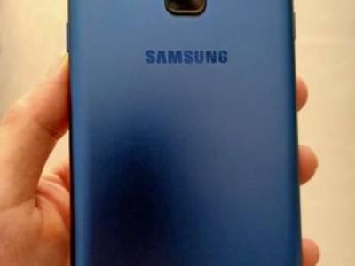 Samsung galaxy a6 xanh dương 32 gb 0