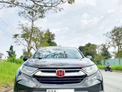 Honda cr v 2019 xanh đen xe gia đình mới tinh 0