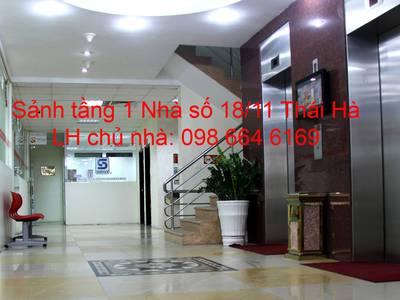 45 và 82m2 VP cho thuê tại phố Thái Hà. Chính chủ, giá rẻ, DV tốt. LH trực tiếp chủ nhà 0986 646 169 0