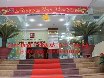 45 và 82m2 VP cho thuê tại phố Thái Hà. Chính chủ, giá rẻ, DV tốt. LH trực tiếp chủ nhà 0986 646 169 3