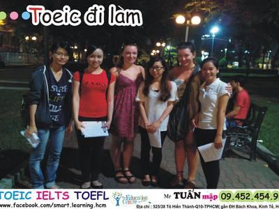 Học TOEIC-IELTS ANH VĂN, Căn Bản, Giao Tiếp Ở Đâu Tốt, Rẻ. Trung Tâm Thầy Tuấn Mập Ở HCM, quận 10 7