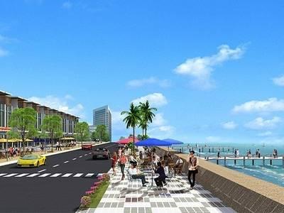 Đất nền sổ đỏ góc 2 mặt tiền biển dự án Hamubay - Phan Thiết 2