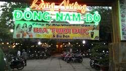 Sang nhà hàng làng nướng Đông Nam Bộ ở Bình Chuẩn, Thuận An, Bình Dương