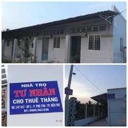 Cho thuê Phòng trọ  mới xây  tại P. Phú Tân - TP. Bến Tre