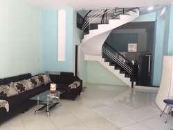 Cho thuê nhà 3 tầng đường An Nhơn 7, 3PN, 3WC. Giá 16tr/tháng