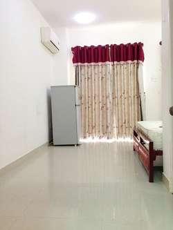Cho thuê phòng Phu Nhuan Ban Công thoáng mát, sach sẽ, full nội thất, free nuoc net cap