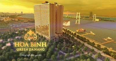 Căn ngoại giao đẹp nhất dự án Hòa Bình Green Đà Nẵng, Cam kết 12/năm, CK 23. LIÊN...