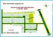 Cần bán gấp lô đất dự án XNK Tổng Hơp 2, Phú Hữu, Quận 9, dt 95m2, giá 25,6 tr/m2