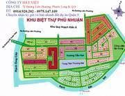 Bán đất lô K dt 18x19m, đối diện công viên, mt sông, thuộc DA Phú Nhuận, giá 25tr/m2