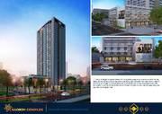Mở bán chung cư VINH COMPLEX cao 31tầng ngã tư Nguyễn Sỹ Sách Hermann, BIDV hỗ trợ lãi suất 0