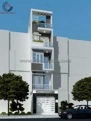 Cho thuê nhà 3 tầng mới xây, mặt phố tại Khu Đô thị mới Hưng Phú   gần siêu thị BigC  Cần Thơ