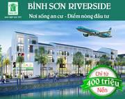 D.A đất nền Bình Sơn REVERSIDE gần đường 769 cách sân bay Long Thành 2km, cạnh KCN Lộc An