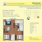 Bán căn góc số 07 tầng 11 chung cư 122 vĩnh tuy-Udic riverside.