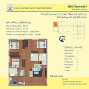 Bán căn số 3 tầng 16 diện tích 90,23m2 chung cư udic riverside vĩnh tuy.