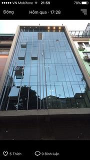 Bán nhà 8 tầng cầu thang máy  phố Thái Hà 14tỷ