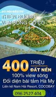 HOT, Đầu tư an cư nghỉ dưỡng đất ven biển Đà Nẵng với giá 135tr/nền chỉ còn 5 lô cuối