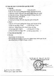 Chính chủ cần bán gấp mảnh đất tại số 6, ngõ 56 An Dương Vương, Tây Hồ