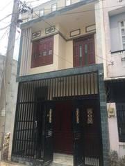 Bán nhà 1 lầu 1 trệt sổ hồng riêng hỗ trợ trả góp gần UBND Phường Tân Đông Hiệp