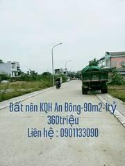 Đất nền KQH An Đông đường Phạm Ngọc Thạch-Huế