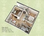 Chính chủ cần bán  chung cư HUD 3 Nguyễn Đức Cảnh- căn 52m2 - 2 PN, bàn giao cơ bản, giá tốt