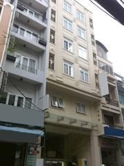 Khách sạn khu Tây cho thuê mặt tiền đường Bùi Viện. Quận 1  3x20m,NH 7.5m, 19P. Giá Thương lượng