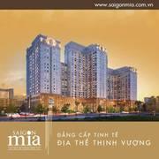 Căn hộ đẳng cấp SG Mia ngay khu dân trí đắc địa Trung Sơn, giá chỉ từ 32tr/m2