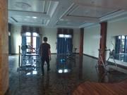 Cho thuê nhà nguyên căn 5 tầng mặt đường Lương Khánh Thiện-Hải Phòng: -Diện tích 40m2, mặt tiền 7,5m