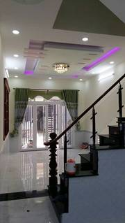 Nhà 2 lầu, 4 PN,3 toilet,Trương Đình Hội,Q.8