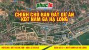 Bán đất nền khu đô thị Nam Ga Hạ Long, Bãi Cháy, Quảng Ninh