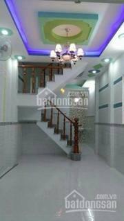 Nhà mới xây, đường HT13, Q12 DT: 3,2X9 có 1PK,3PN,3WC