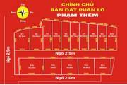 Bán đất phân lô trong ngõ đường Trung Hành , Đằng Lâm , Hải An , Hải Phòng
