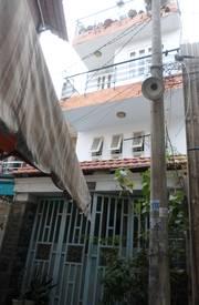 Bán nhà nằm ngay trung tâm quận Tân Phú