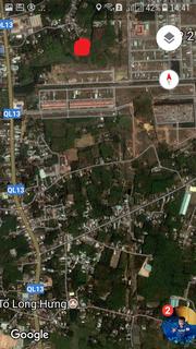 Bán 4.500m đất gần khu công nghiệp Mỹ Phước 3, TX Bến Cát, Bình Dương.