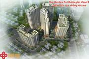 Bán Căn hộ CC Tòa 32T, The Golden An Khánh, 02 phòng ngủ  căn góc
