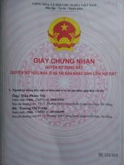Bán lô đất 99m2 kiệt đối diện bệnh viện Hòa Vang, Đà Nẵng