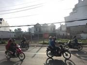 Đi nước ngoài cần bán gấp đất chính chủ mặt tiền NGuyễn Văn Búa, Hóc Môn.dt :35X25m, giá 3 tỷ.
