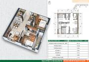 Chính chủ bán căn hộ 65.8 m2 chung cư Xuân Mai Sparks Tower, Dương Nội, Q.Hà Đông, Hà Nội