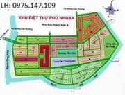 Bán đất nền biệt thự dự án Phú Nhuận, Phước Long B, Quận 9. Sổ đỏ, những nền vị trí đẹp