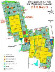 Bán nhà   nhà trọ nằm ngay trung tâm kcn Bàu Bàng BD, thổ cư 100.